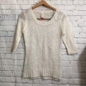 Other - 💥MUST BUNDLE💥Sequined Embellished Knit Top
